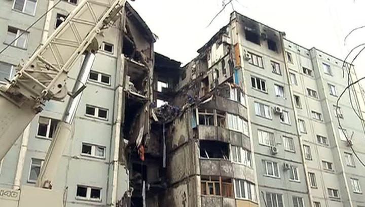 Взорванный дом вСоветском районе Волгограда снесут за75 дней
