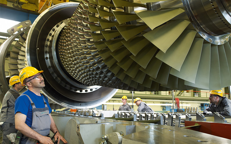 ВКрым переместили 4 турбины, поставленные для станции повыробатыванию электричества вТамани— Siemens