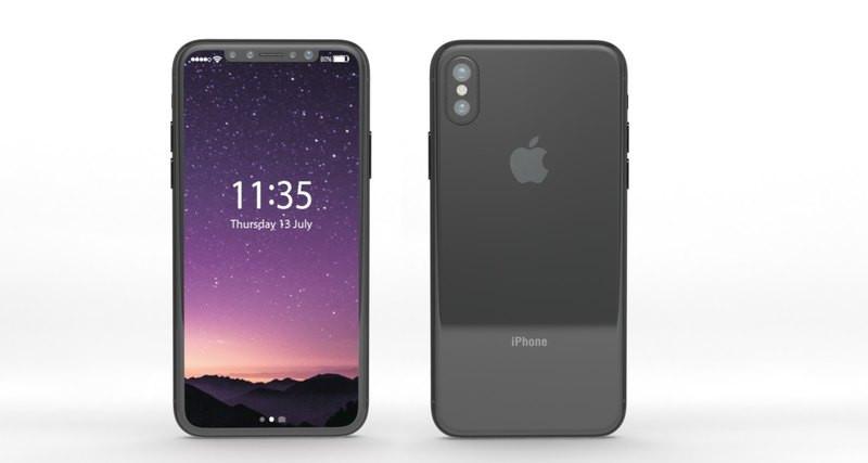 ВСеть просочился заключительный дизайн IPhone 8