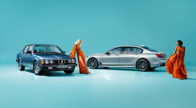 В России будет представлена юбилейная модель BMW 7