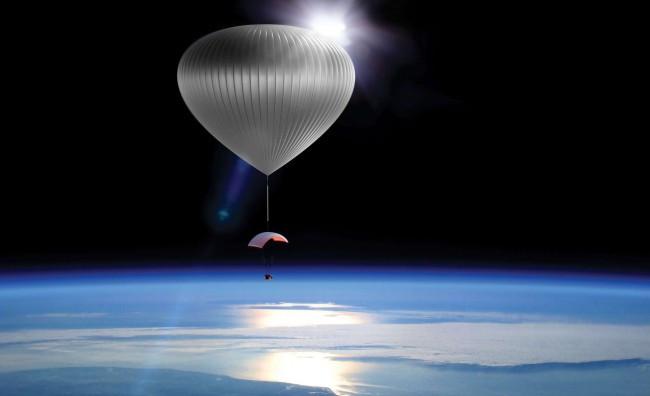 В 2019-ом году состоится 1-ый космический полёт навоздушном шаре