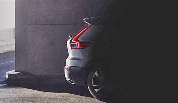 Компания Вольво представила новое изображение кроссовера XC40?