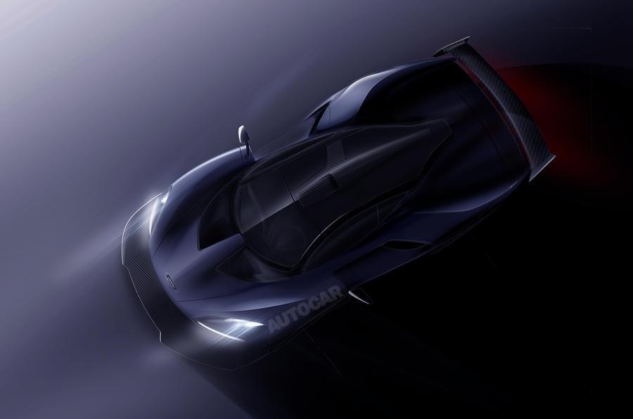 МакЛарен  представит общественности собственный  новый гиперкар P15 уже к 2018г.