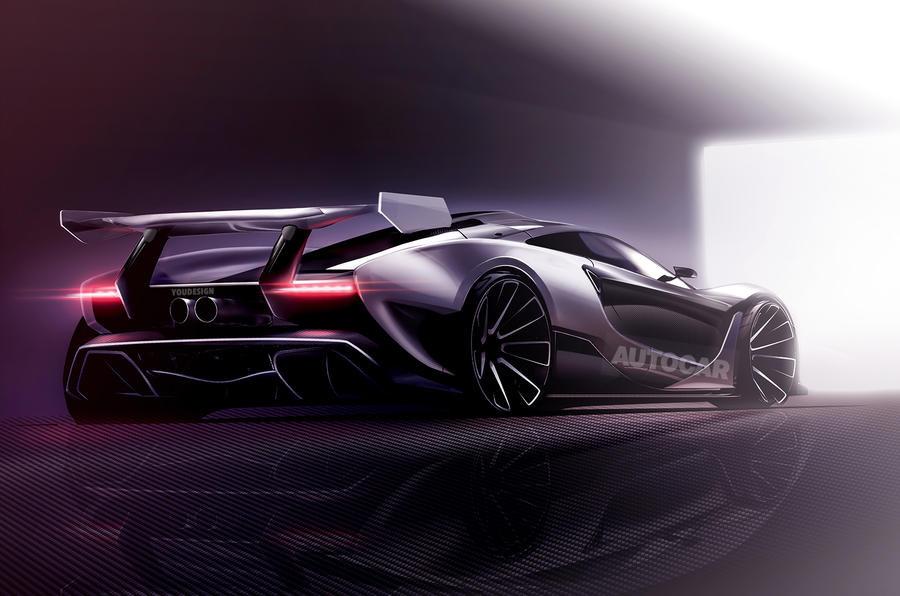 МакЛарен к 2018г выпустит самый экстремальный вистории бренда спорткар