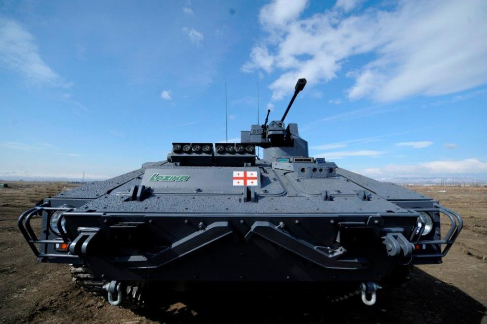 ВГрузию прибыла военная техника НАТО