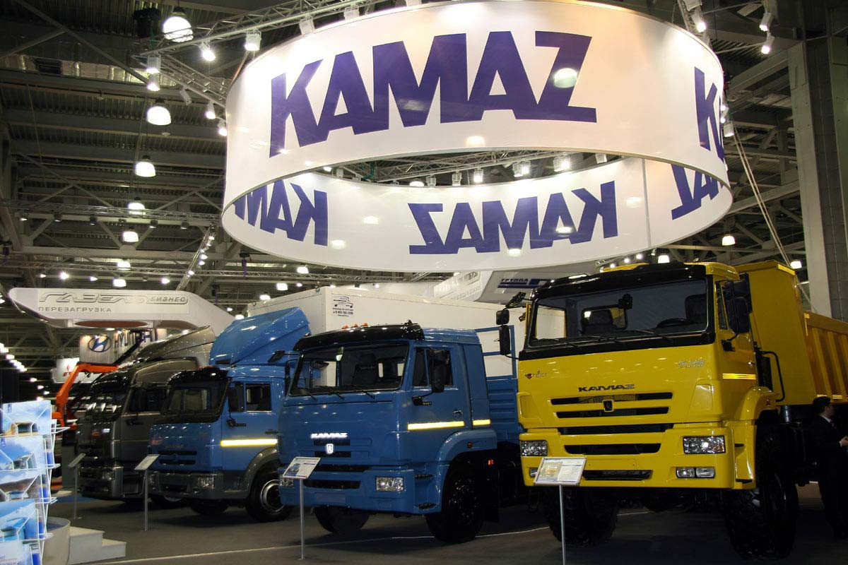 Запервые полгода 2017-го «КАМАЗ» выручил 61,9 млрд руб.