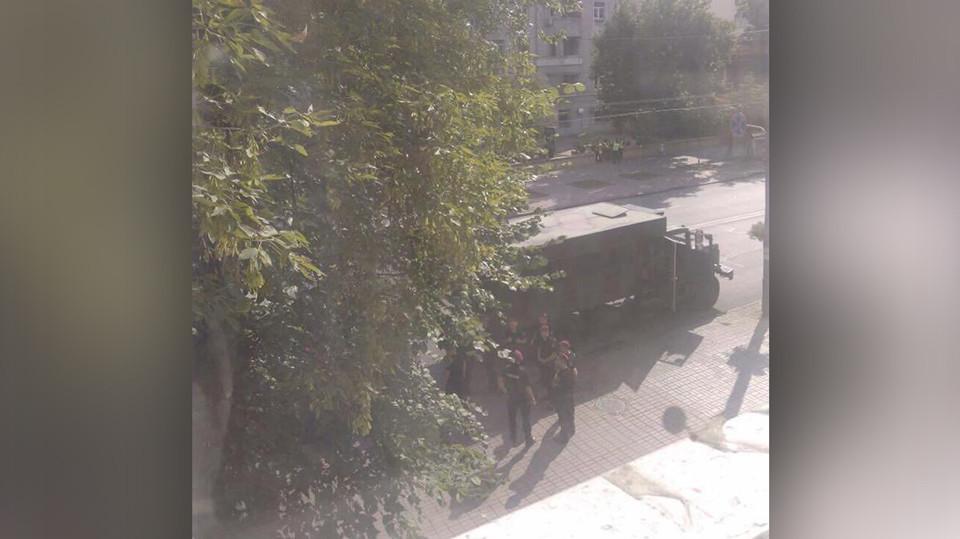 ЗаКоханивским пришли? Силовики заблокировали штаб-квартиру ОУН вКиеве