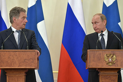Ниинисте объявил обоживлении отношений междуРФ иФинляндии