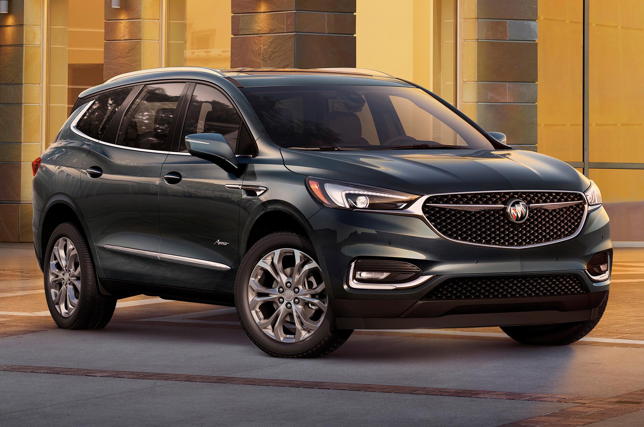 Продажи Buick Enclave 2018 начнутся этим летом