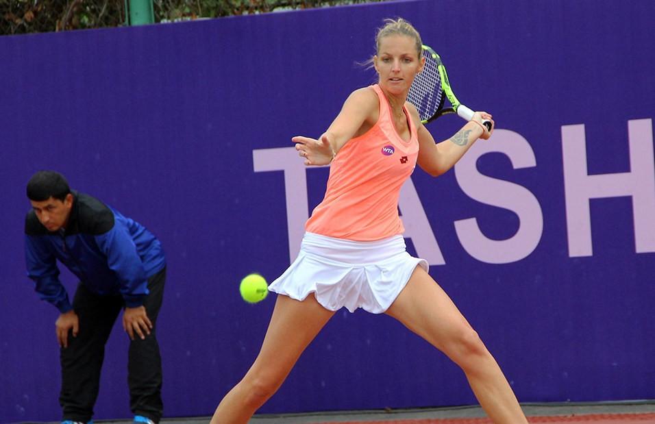 Чешская теннисистка травмировала палец вентилятором вовремя матча