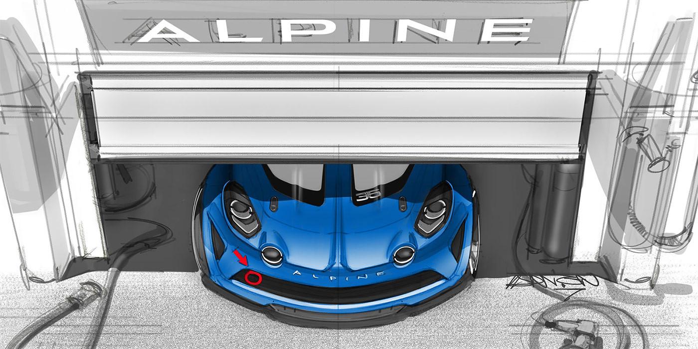 Рэно возвратит Альпин A110 Cup нагоночный трек