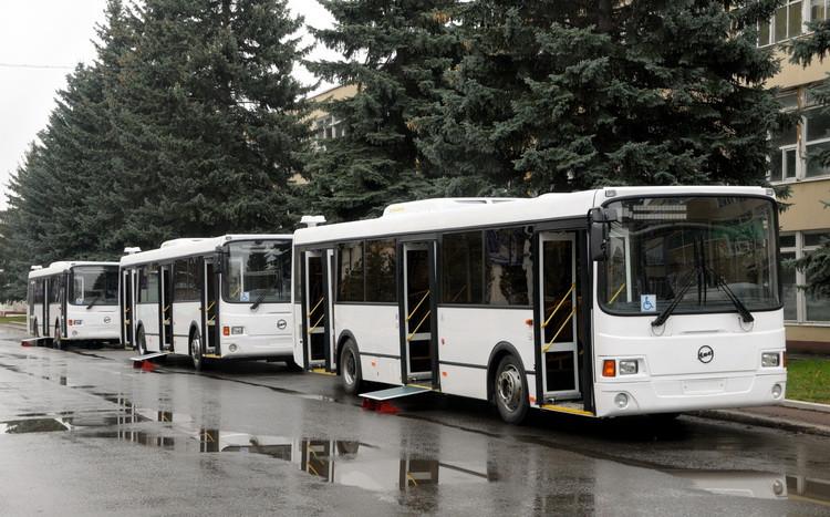 ВНижнем Новгороде появились 100 новых низкопольных автобусов ЛиАЗ