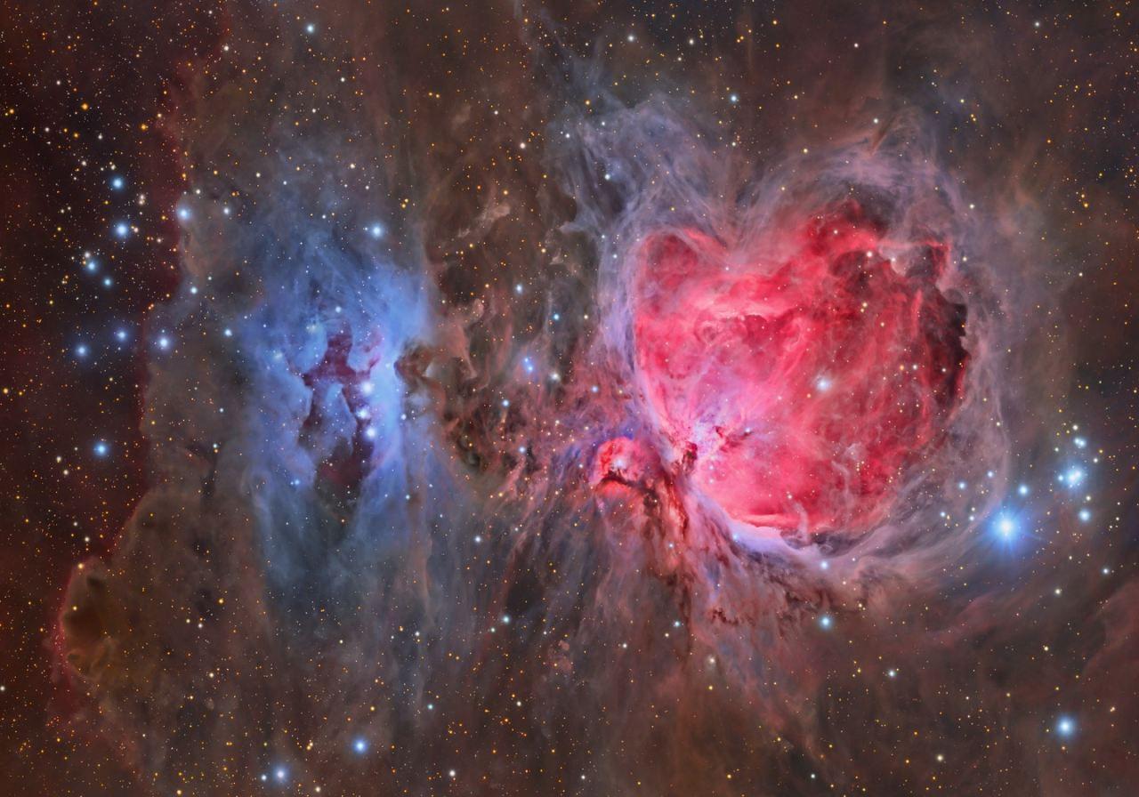 ВТуманности Ориона отыскали три поколения звезд