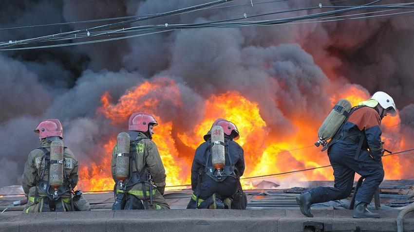 ВХабаровском крае зажегся склад сбоеприпасами