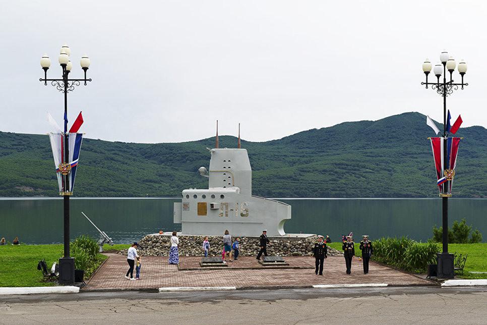НаКамчатке накануне Дня ВМФ восстановили монумент экипажу подлодки Л-16