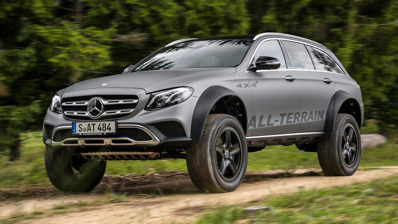 «Безумный» Mercedes E-Class All-Terrain 4х4 отправят всерию