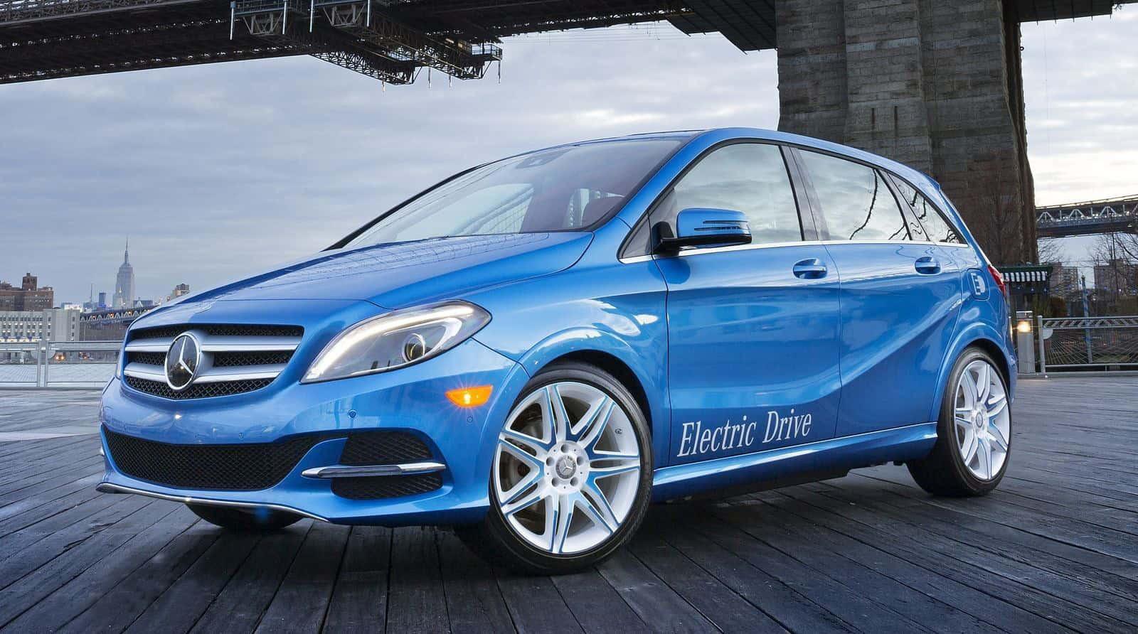 Benz отказался отэлектрического B-класса