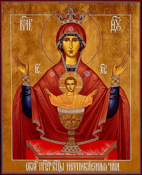 В Башкирию доставлена икона «Неупиваемая чаша»