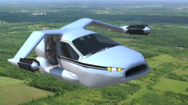 Компания Geely планирует выпустить летающий автомобиль
