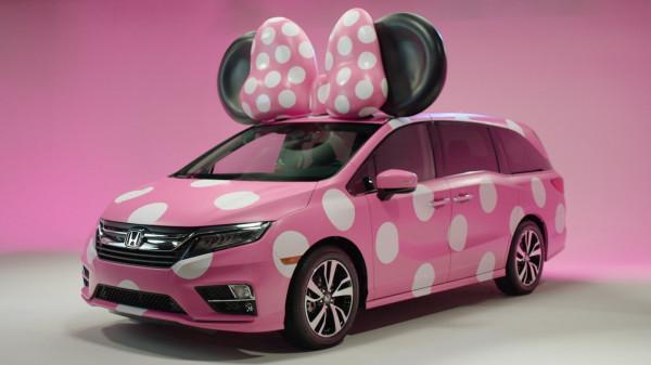Honda и Disney разработали минивэн Odyssey для Минни Маус