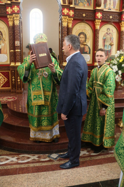 За помощь в возведении Георгиевского собора Евгений Суворов получил награду от РПЦ