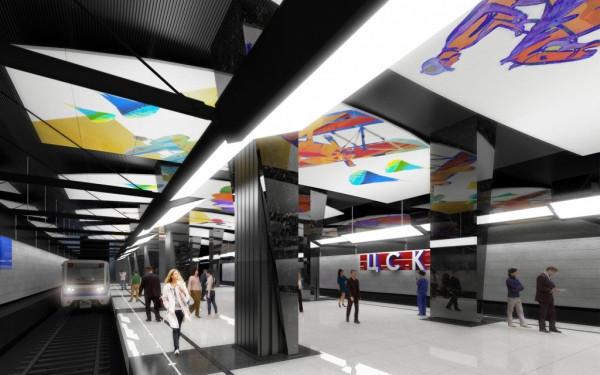 В Москве в октябре откроется станция метро «ЦСКА» для пассажиров
