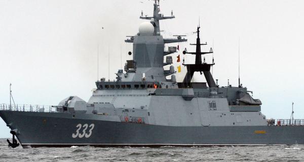 Корвет «Совершенный» пополнил состав Тихоокеанского флота