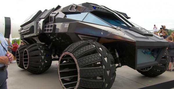 В США показали первый прототип пассажирского марсохода