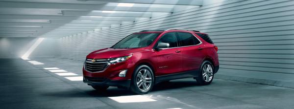 Обновленный Chevrolet Equinox получил 2-литровый турбодвигатель
