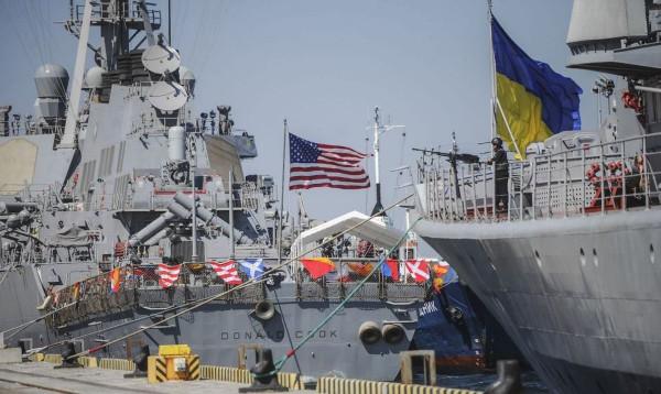 Украина завершила военные учения Sea Breeze-2017