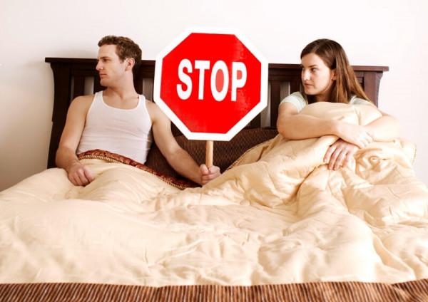 Отказ женщины от секса причина