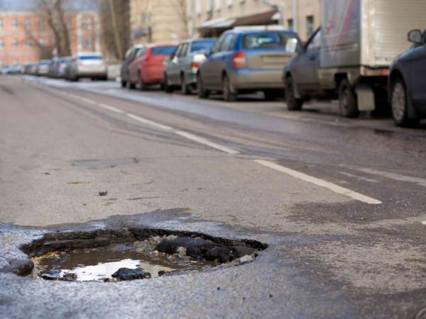 В Ярославле названы самые аварийные ямы на дорогах