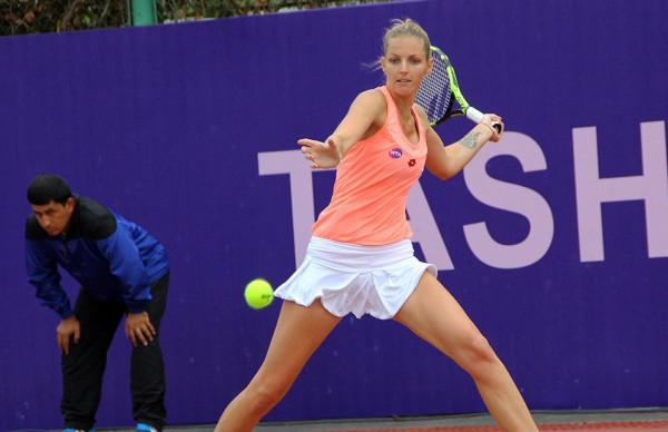 Кристина Плишкова отказалась от матча в Наньчане из-за травмы руки