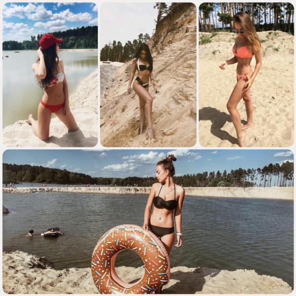 Девушки из Липецка покорили Instagram откровенными пляжными фото