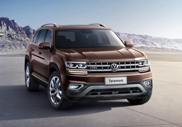 Растут продажи нового Volkswagen Teramont