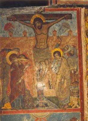 На древней фреске в грузинском храме нарисованы НЛО