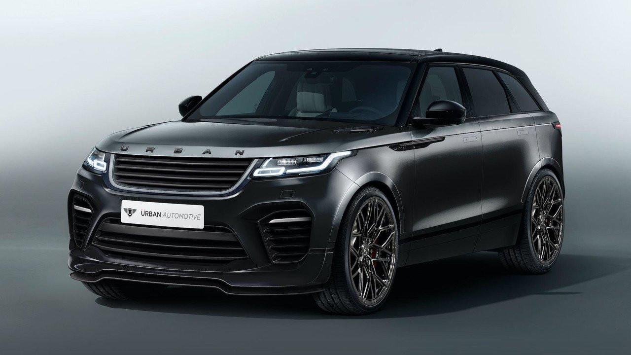 Тюнинг Range Rover Velar отUrban Automotive: практически Velar SVR
