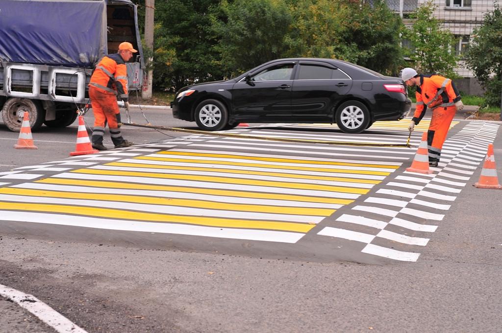 Попрограмме «Моя улица» вМоскве создадут около 200 новых пешеходных переходов