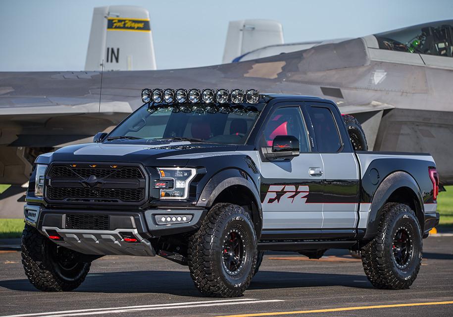 Неповторимый «пикап-истребитель» Форд F-150 продали за300 000 долларов