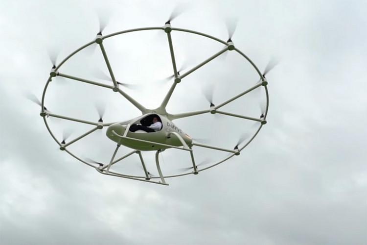 Daimler вложил 25 млн евро встартап Volocopter