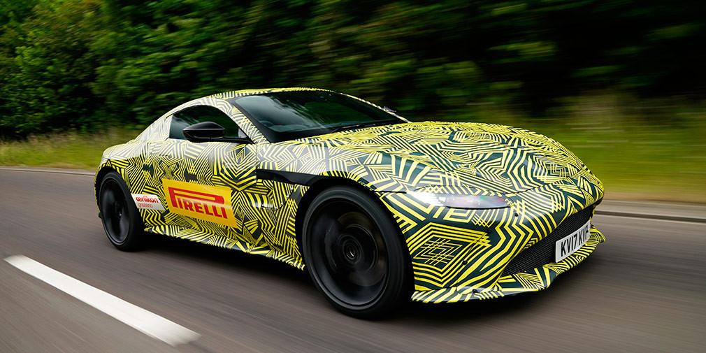 Будущий Aston Martin Vantage и наследие агента 007