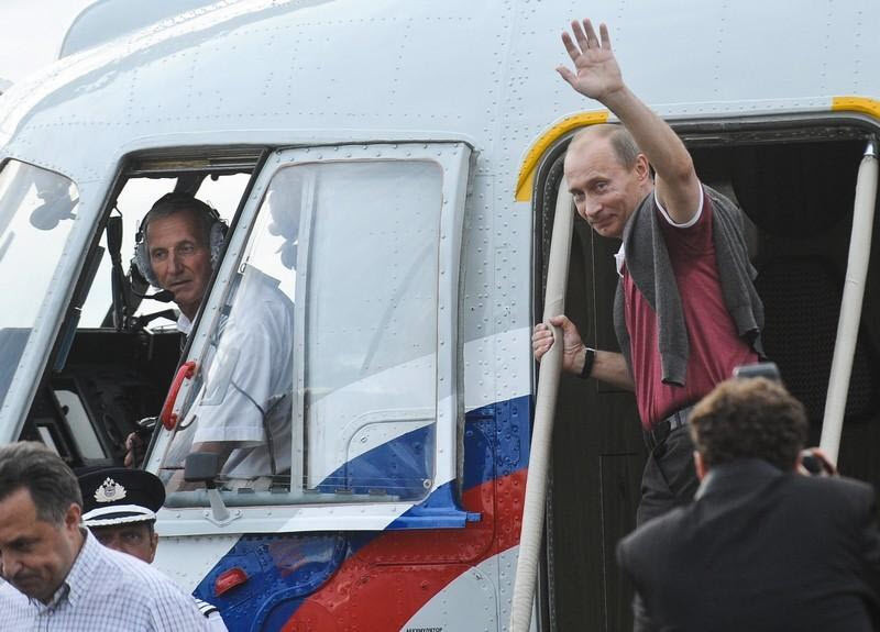Путин будет перемещаться  поКирову навертолете 0+