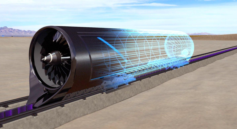 Капсула Hyperloop набрала скорость больше 300 километров в час