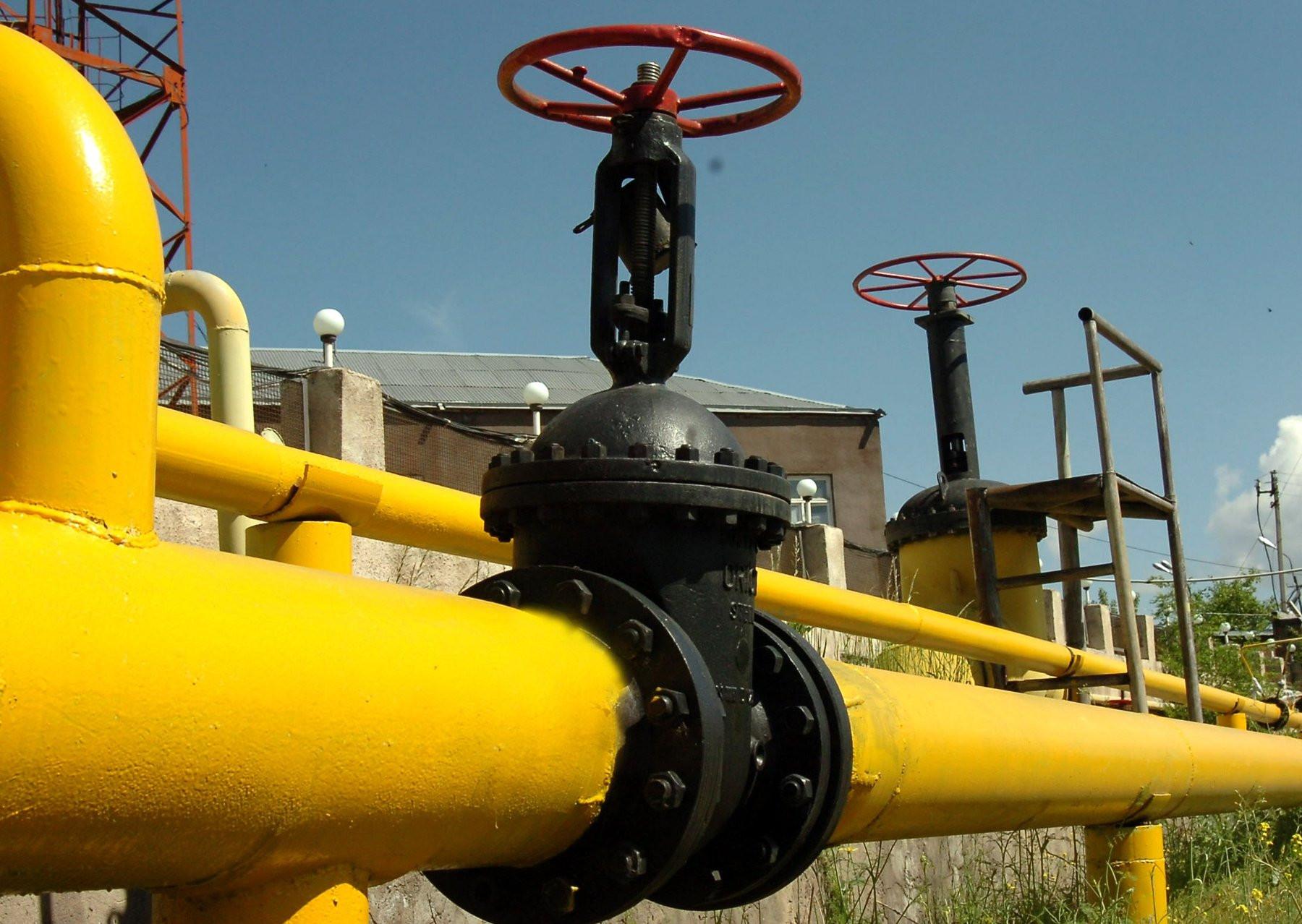 Поставки газа вАрмению изРФ будут временно прекращены из-за ремонтных работ