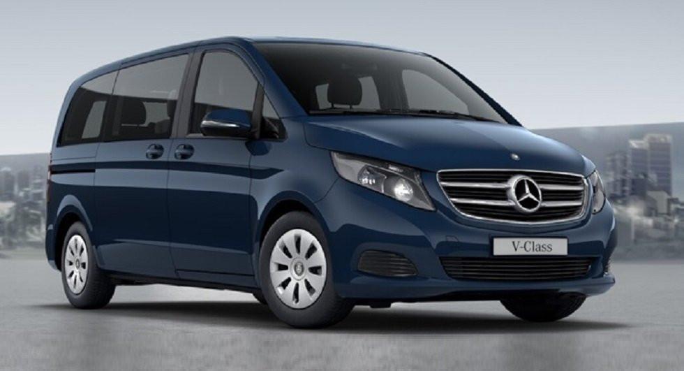 Benz рассекретили новый фургон V-Class Rise