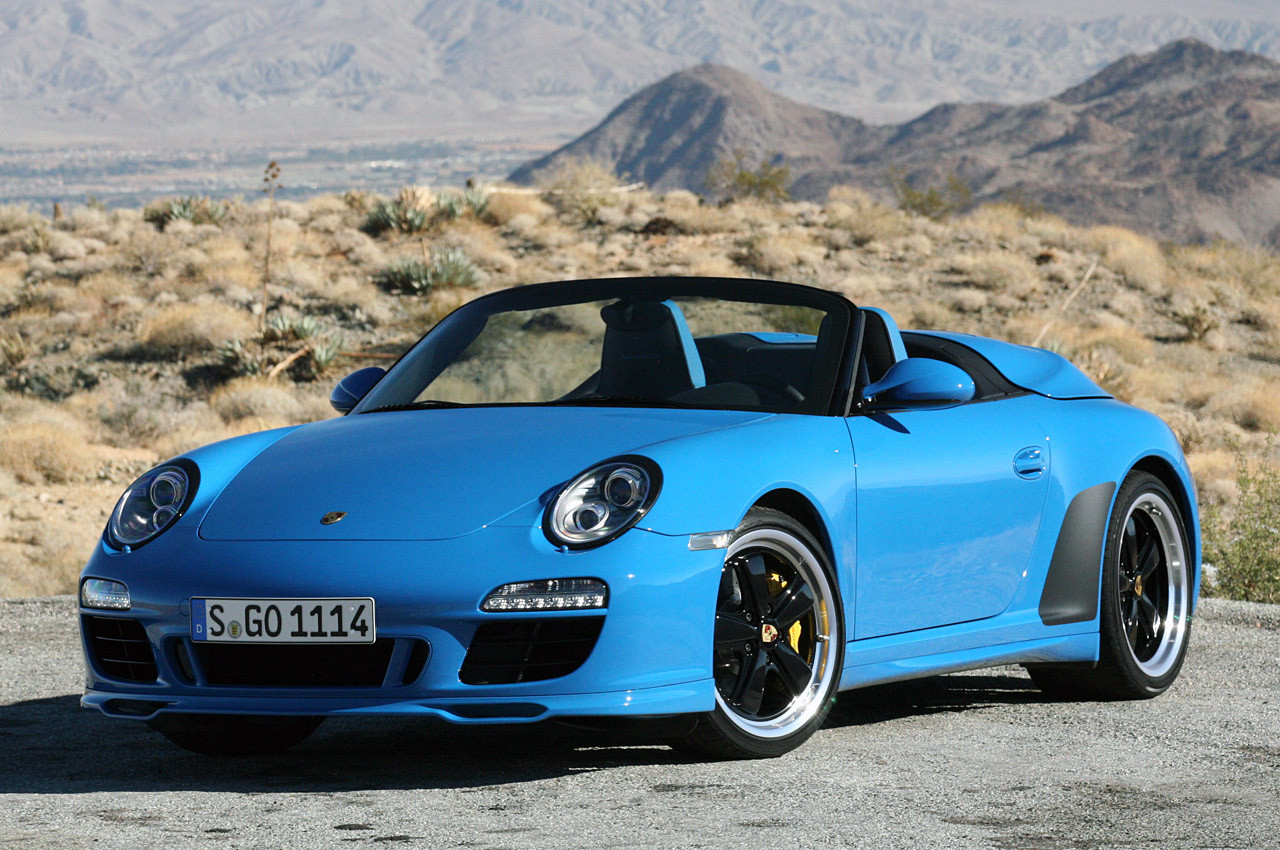 Компания Порш презентует воФранкфурте новый спидстер 911