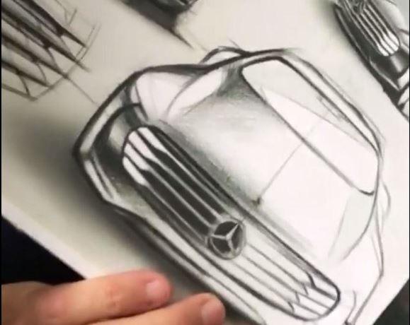 Benz представит новый концептуальный автомобиль
