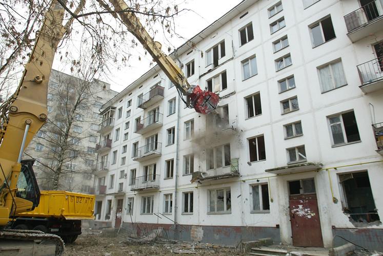 Четверть выстроенных пореновации домов будут высокоэтажными
