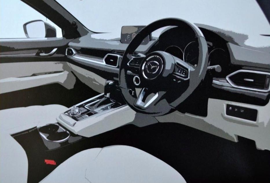 Всети появилась рекламная брошюра кроссовера Mazda CX-8