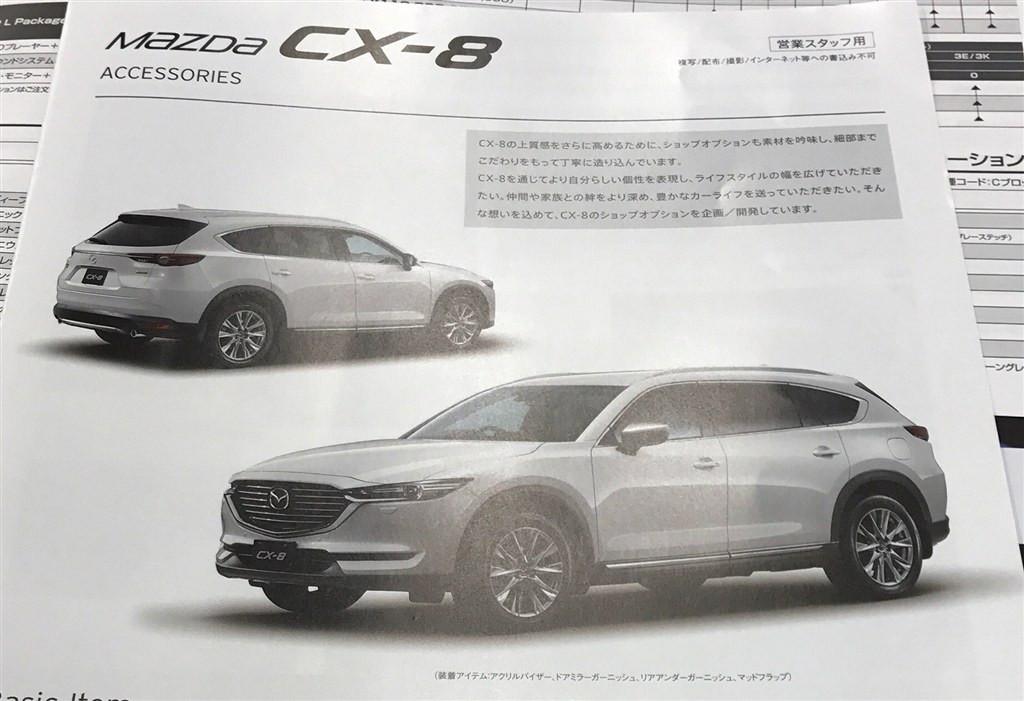 Появились новые изображения кроссовера Мазда CX-8